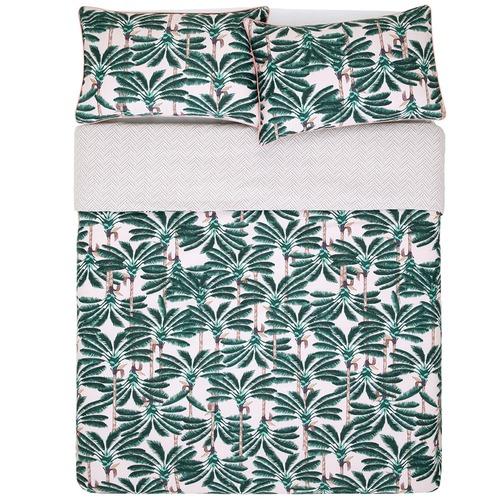 Kas Leolani Cotton Sateen Quilt Cover Set