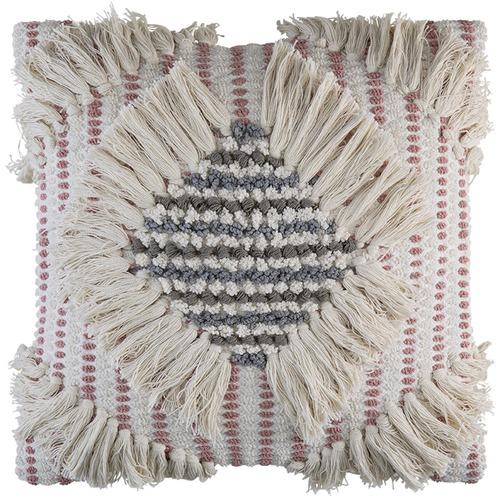 Kas Blush Talia Cotton Cushion