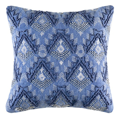 Kas Blue Rochelle Cotton Cushion