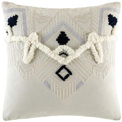 Kas Basque Cotton Cushion