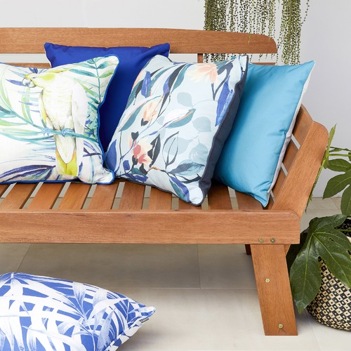 Kas Eucalypt Outdoor Cotton Cushion