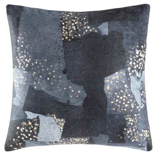 Kas Navy Costella Square Cushion