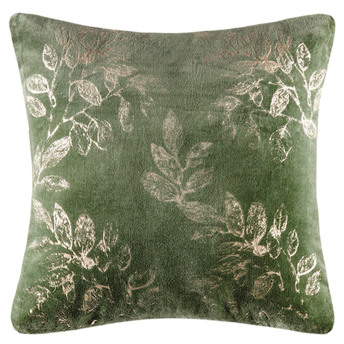 Kas Botanical Rosamund Square Velvet Cushion