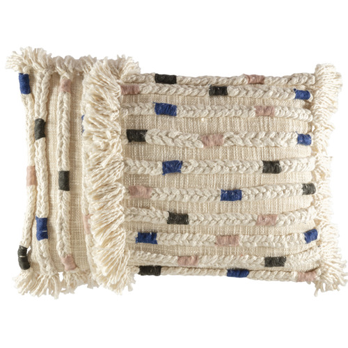 Kas Textured Odene Rectangular Cushion