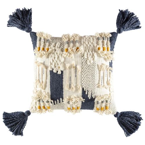 Kas Cole Square Cotton Cushion