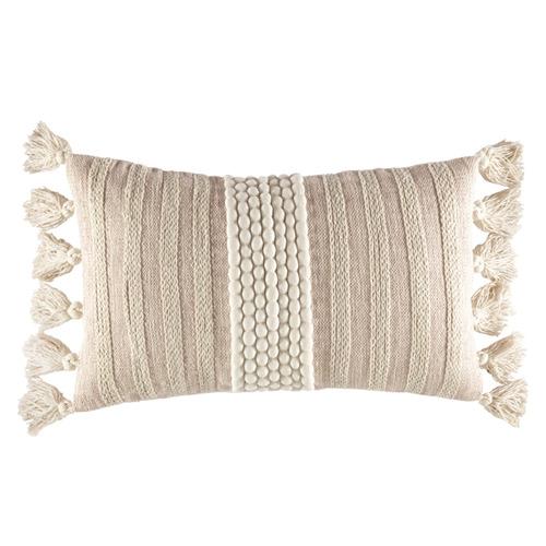 Kas Blush Sabina Rectangular Cushion
