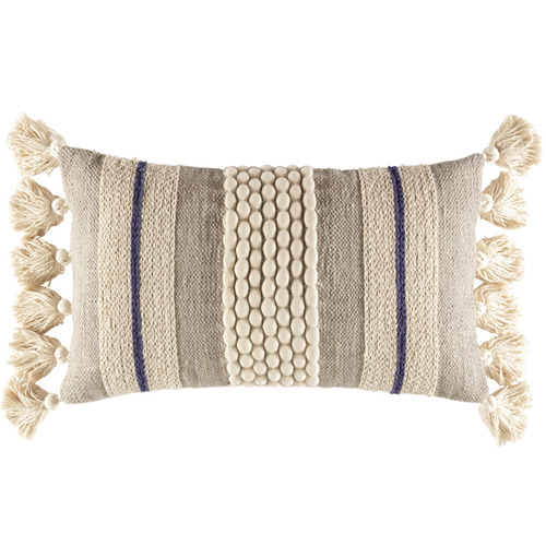 Kas Textured Sabina Rectangular Cushion