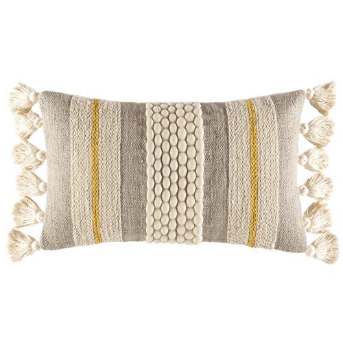 Kas Textured Sabina Rectangular Cushion