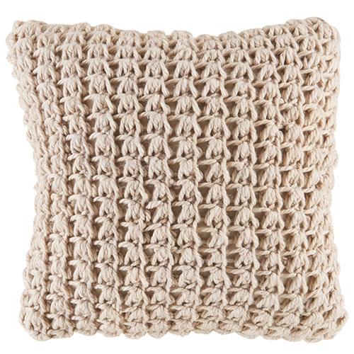 Kas Chunky Knit Kelly Square Cushion