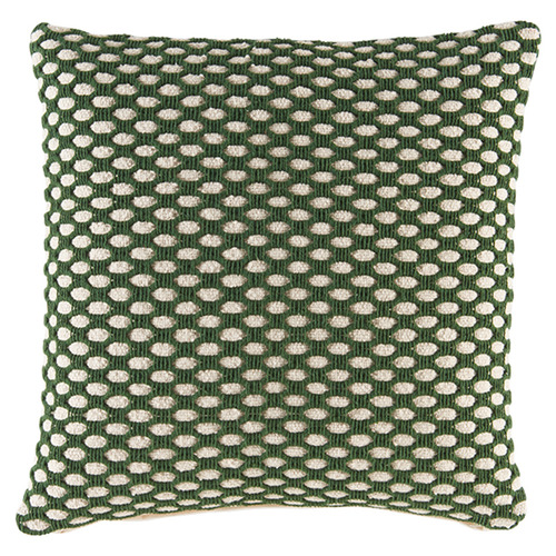Kas Lattice Bango Square Cotton Cushion
