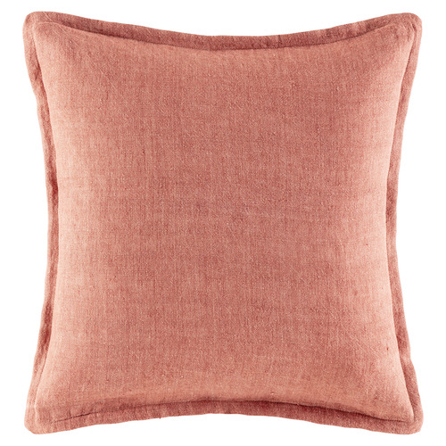 Kas Clay Square Linen Cushion