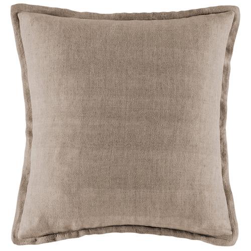 Kas Natural Square Linen Cushion