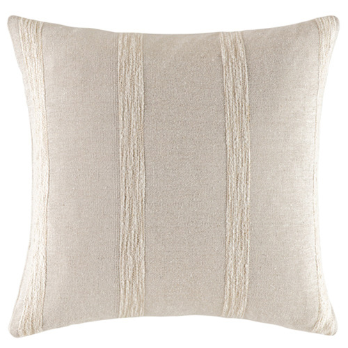 Kas Woven Stripe Luca Cotton Cushion