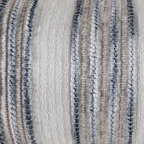 Kas Natural Mikaela Cotton-Blend Cushion