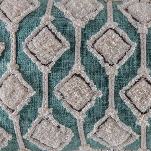 Kas Tasselled Valeria Cotton-Blend Cushion