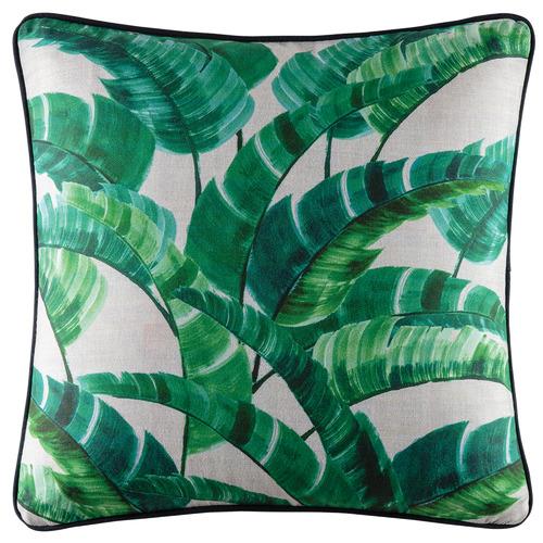 Kas Green Palmaria Cotton Outdoor Cushion