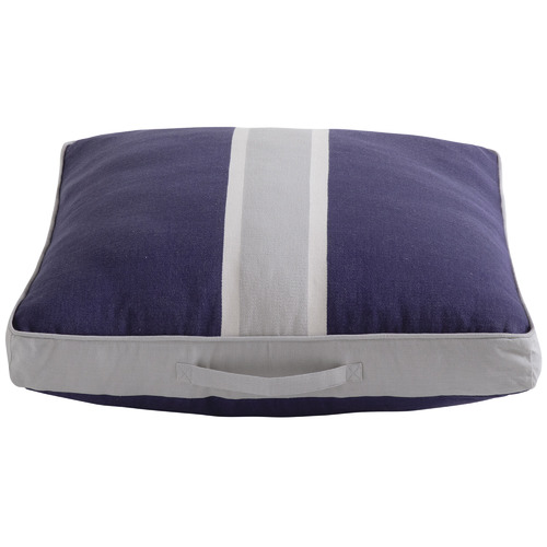 Kas Navy Rally Cotton Floor Cushion