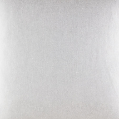 Kas White Tailored Linen Cushion