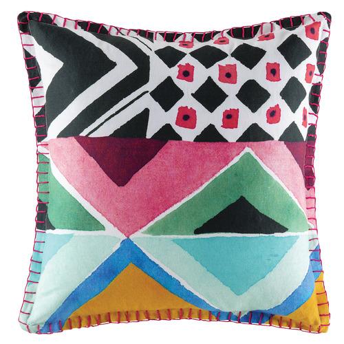 Kas Geometric Uno Cotton Cushion