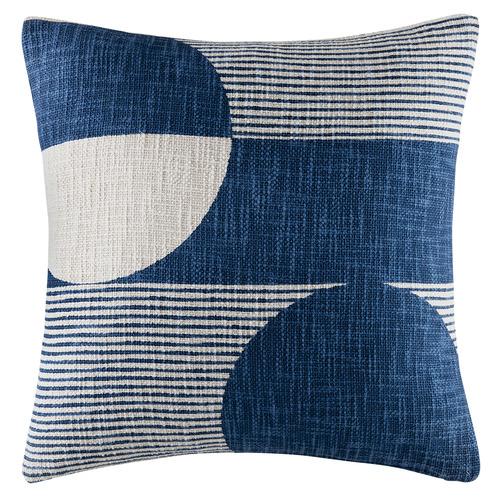 Kas Geometric Bron Cotton Cushion