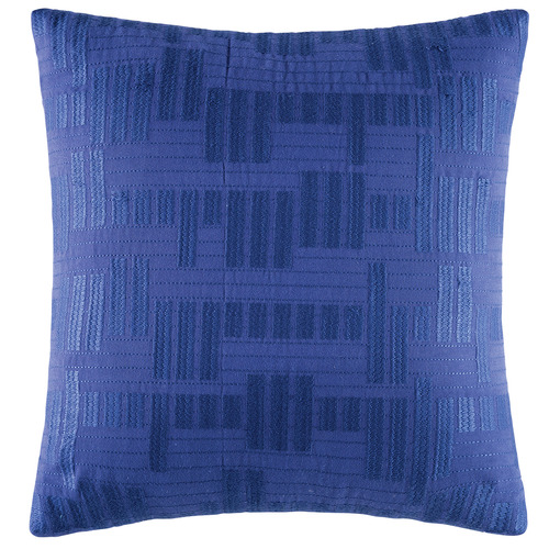 Kas Blue Fallow Cotton Cushion