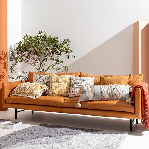 Kas Tasselled Talbot Cotton-Blend Cushion