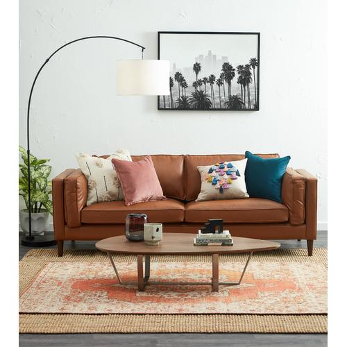 Kas Tasselled Square Cotton Cushion