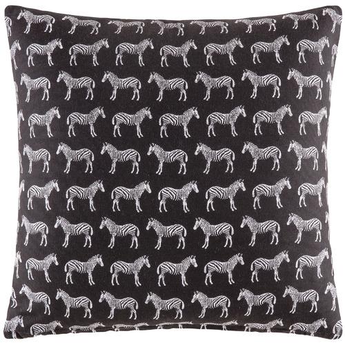 Kas Zebra Cotton Cushion