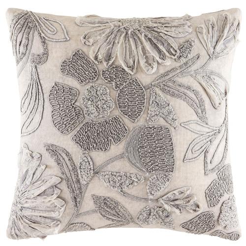 Kas Hafla Bouclé & Chain Cotton Cushion