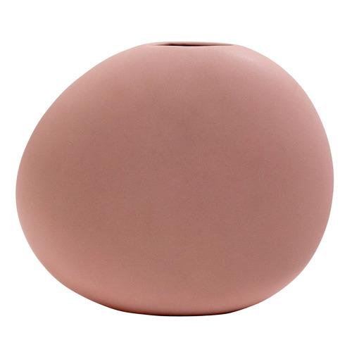 Kas Pink Cobble Ceramic Vase
