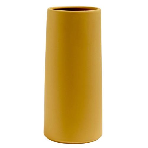 Kas Mustard Classic Ceramic Vase