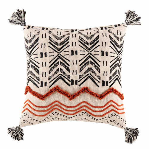 Multi-Coloured Axon Cotton Cushion