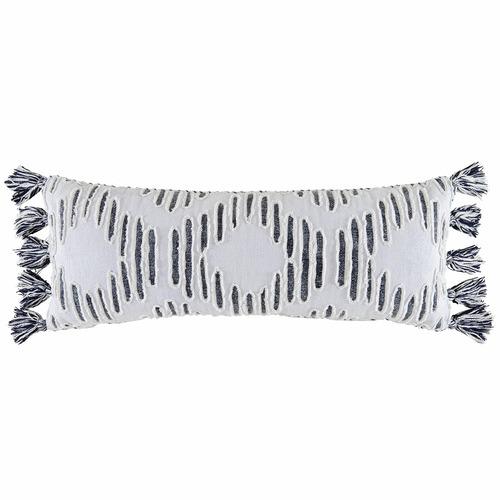 Kas Black Surat Cotton Cushion