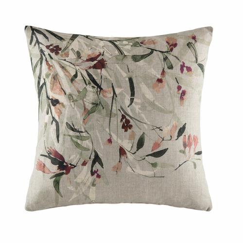 Kas Sage Brush Linen-Blend Cushion