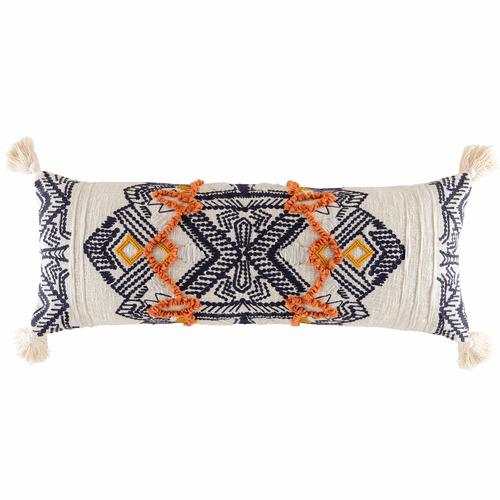 Kas Multi-Coloured Rassa Cotton-Blend Cushion