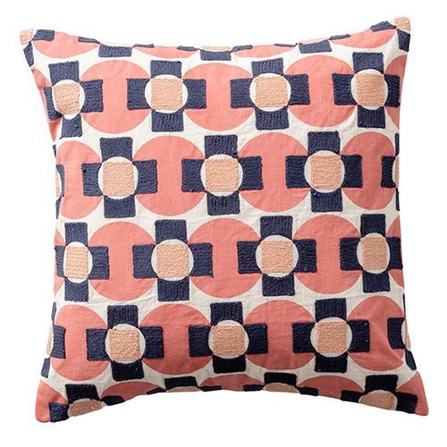 Rose Geo Cotton Cushion