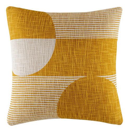 Geometric Bron Cotton Cushion
