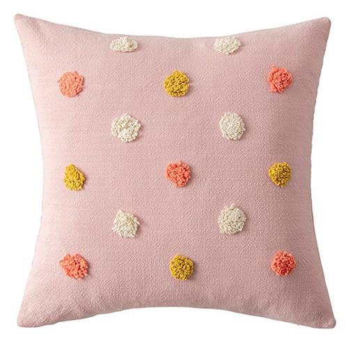 Pom Pom Cotton Cushion