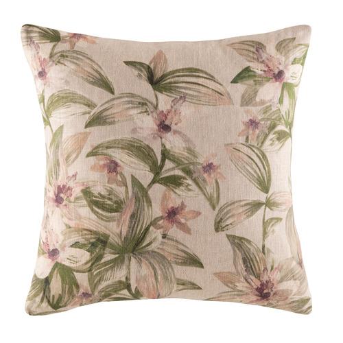 Zebrina Linen-Blend Cushion