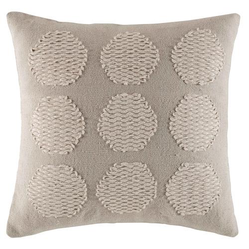 Natural Circle Cotton Cushion