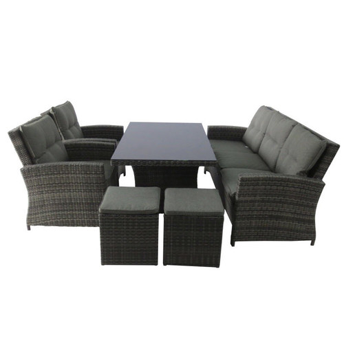 outdoor wicker furniture dining sets. pacific outdoor furniture springfield 6 piece wicker sofa dining set sets y