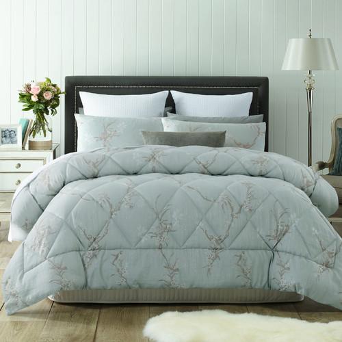 Accessorize Fleur Jacquard Comforter Set