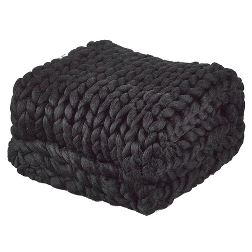 accessorize black chunky knit throw  u0026 reviews