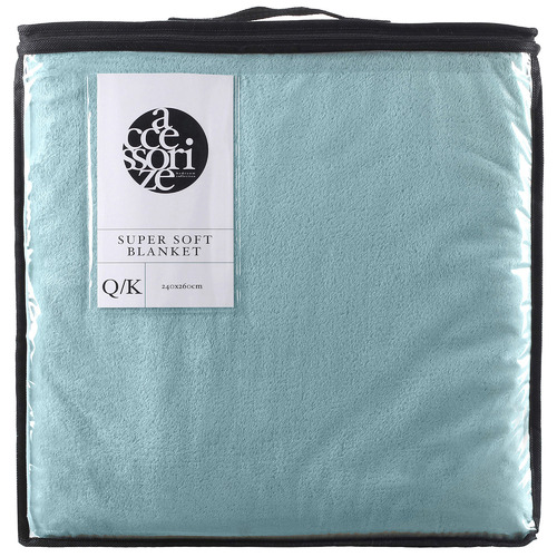 Accessorize Super Soft Queen/King Blanket