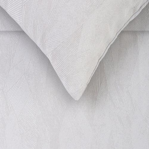 Accessorize Silver Java Jacquard Comforter Set