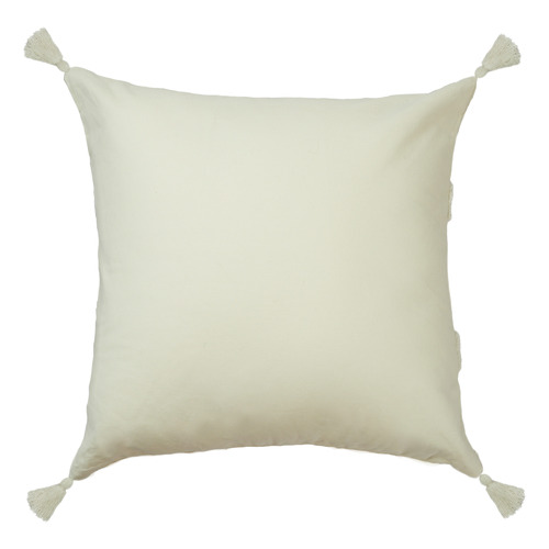 Indra Tasselled Cotton Cushion