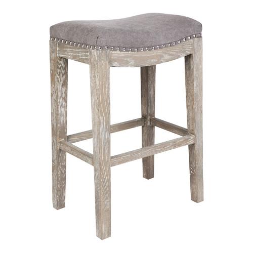Awesome Grey Lucas Barstool Short Links Chair Design For Home Short Linksinfo