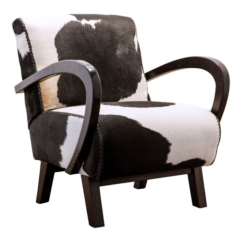 Ordinaire Alexander Santorini Imports Black U0026amp; White Relax Cowhide Chair
