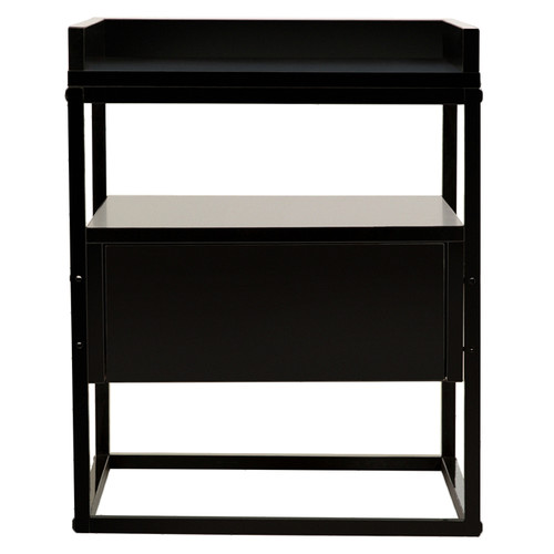 Brooklyn Home Brock Industrial Style Bedside Table
