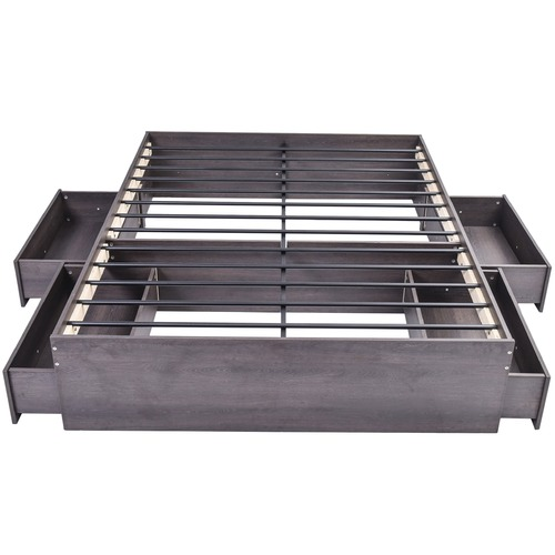 Brooklyn Home Tula Black Bozz Storage Platform Bed